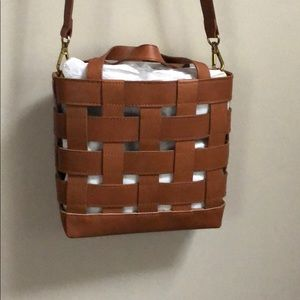 Madewell Small Transport Tote: Basketweave Edition